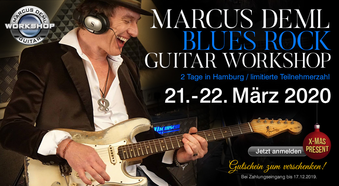 Marcus Deml Blues Rock Workshop