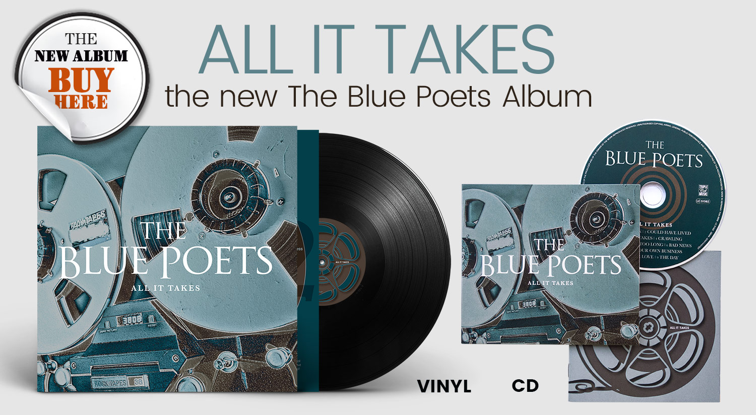 The new Album All it takes